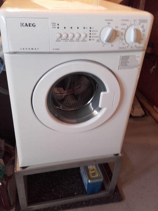 AEG Waschmaschine LC 53500 1
