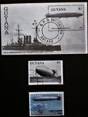 Briefmarken Graf Zeppelin