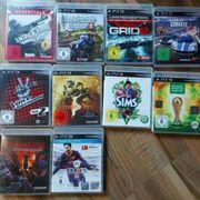 verschiedene PlayStation3 Spiele