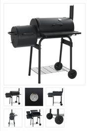 Klassischer Holzkohlegrill Barbecue Smoker