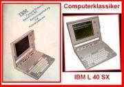 L40SX - Vorläufer der ThinkPad Notebookreihe