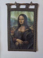 Wandbehang Bild Druck Mona Lisa