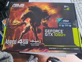 Geforce GTX 1050 Ti, Asus, 4 GB