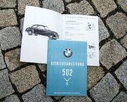 Betriebsanleitung BMW 502 V8 1954