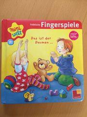 Buch fröhliche Fingerspiele
