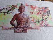 Wandbilder Buddha beim Meditieren