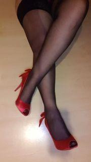 High heels Strumpfhosen Strümpfe
