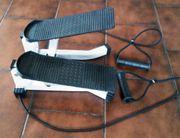 Fitness Stepper Heimtrainer mit Zugbändern