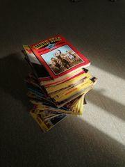 1 Stapel alte Western Romane