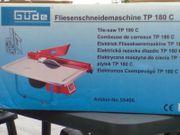 Fließenschneidmaschine Güde TP 180 C