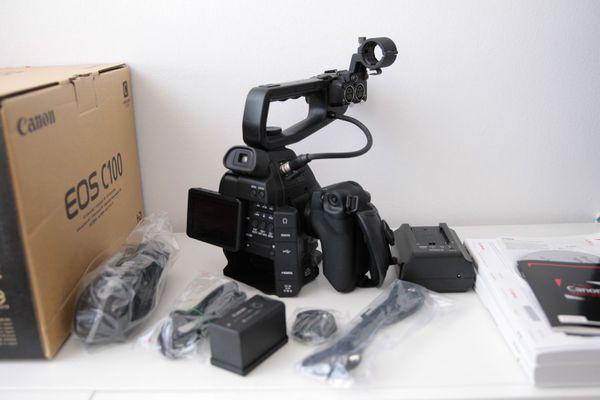 Canon C100 Camcorder Set mit