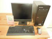 Lenovo Computer mit EIZO Monitor