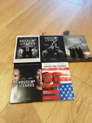 House of cards Staffel 1-5