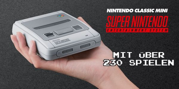 Nintendo SNES Classic Mini 230