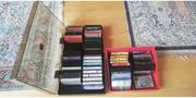 Verschenke Musik-Kassetten Kassetten-Hüllen Kassetten-Box