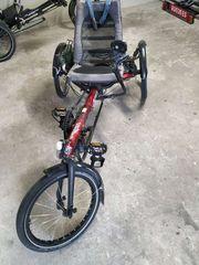 Liegerad Hase Bike mit Antrieb