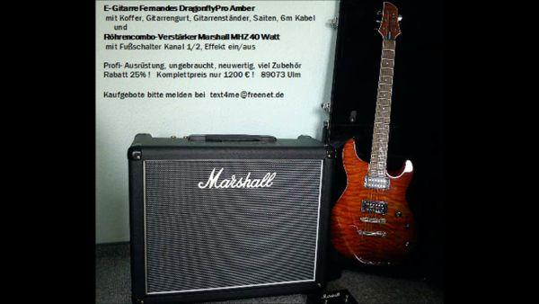 Marshall MHZ 40 » Gitarren/-zubehör