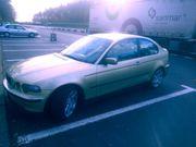 BMW e46 Compact gold Neue