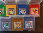 Pokemon Gameboy Silberne Gelb Blau