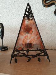 Teelicht Pyramiden Lampe