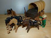 Playmobil Western Planwagen aus 70er
