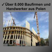 Handwerker und Baufirmen aus Polen