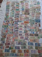 Banknoten Sammlung 200 Stücke
