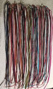 Echte Wildlederbänder Top Farben Hobby