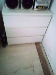 Kommode Holz Weiß 60 - EUR