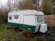 Wohnwagen als Gartenhaus