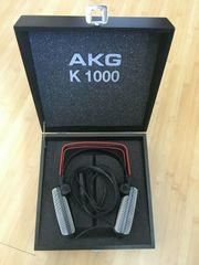 AKG K 1000 mit Holzbox