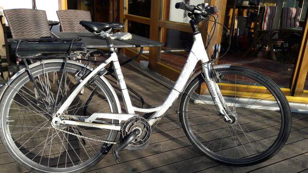 E-Bike Stevens weiß Top in