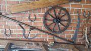 Antike landwirtschaftliche Geräte