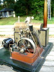 Uralte grösste Märklin Schiffsdampfmaschine