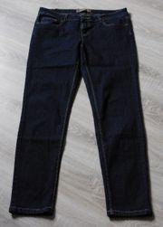 Dunkelblaue Jeans FishboneGr 29