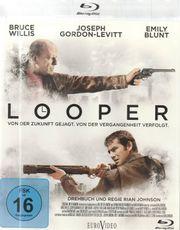 Blu ray - Looper Bruce Willis Sci-Fi