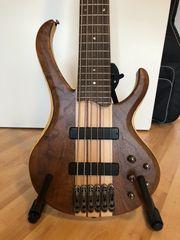 Rarität Sechssaitiger Ibanez-Bass BTB 676