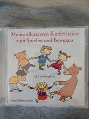CD mit 38 Kinderliedern Meine