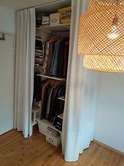 IKEA ALGOT Regalsystem als Kleiderschrank