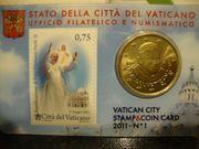 3 x 50 CENT VATIKAN