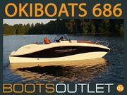 Motorboot Sportboot Angelboot OKIBOATS BARRACUDA