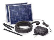 Solar Bachlaufset 70W Solarmodul 3400