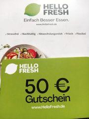 Hello Fresh 50 Gutschein Neu