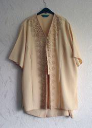Damen-Kostüm Gr 50 pfirsich Oberteil