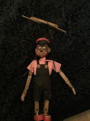 Antik Marionette aus Holz
