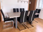 Esstisch und 6 Stühle