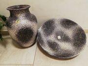Schale mit passender Vase