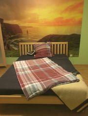 Segmüller Holz Bett inkl Lattenrost