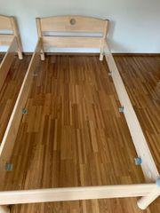 2 Einzelbetten inkl Matratzenrost und