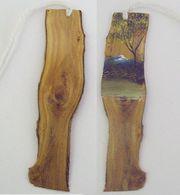 Holz-Lesezeichen